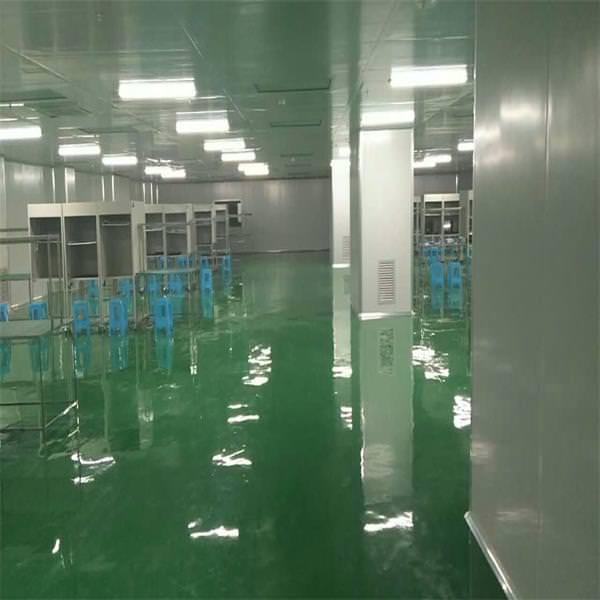 广州某食品厂10万级无尘车间